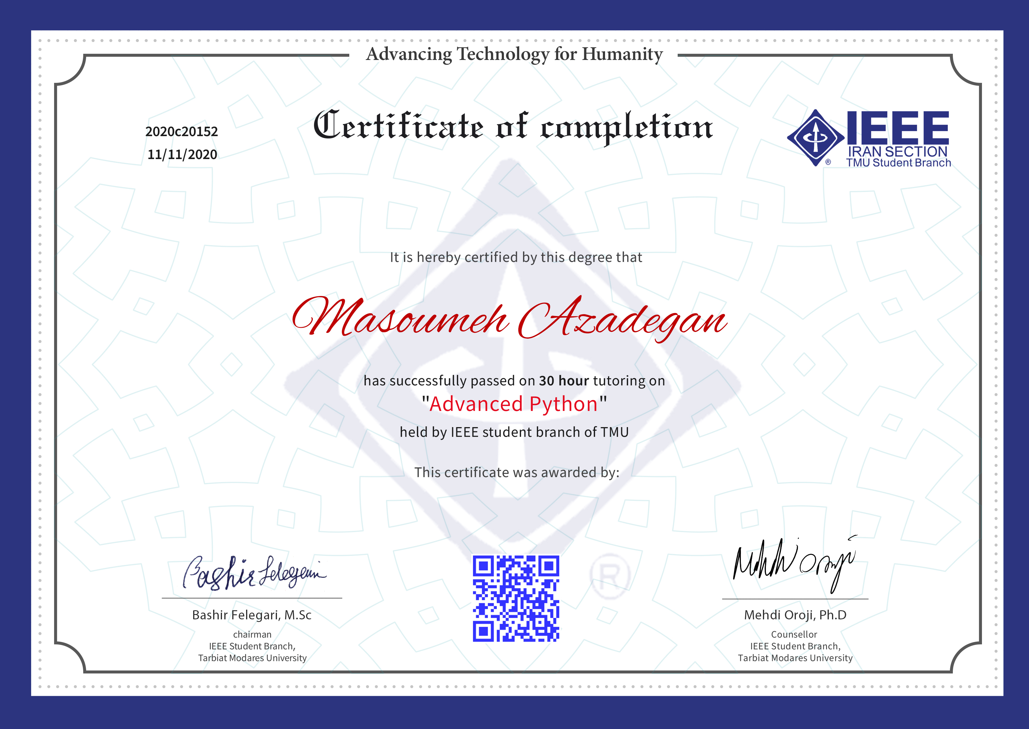 Masoumeh Azadegan