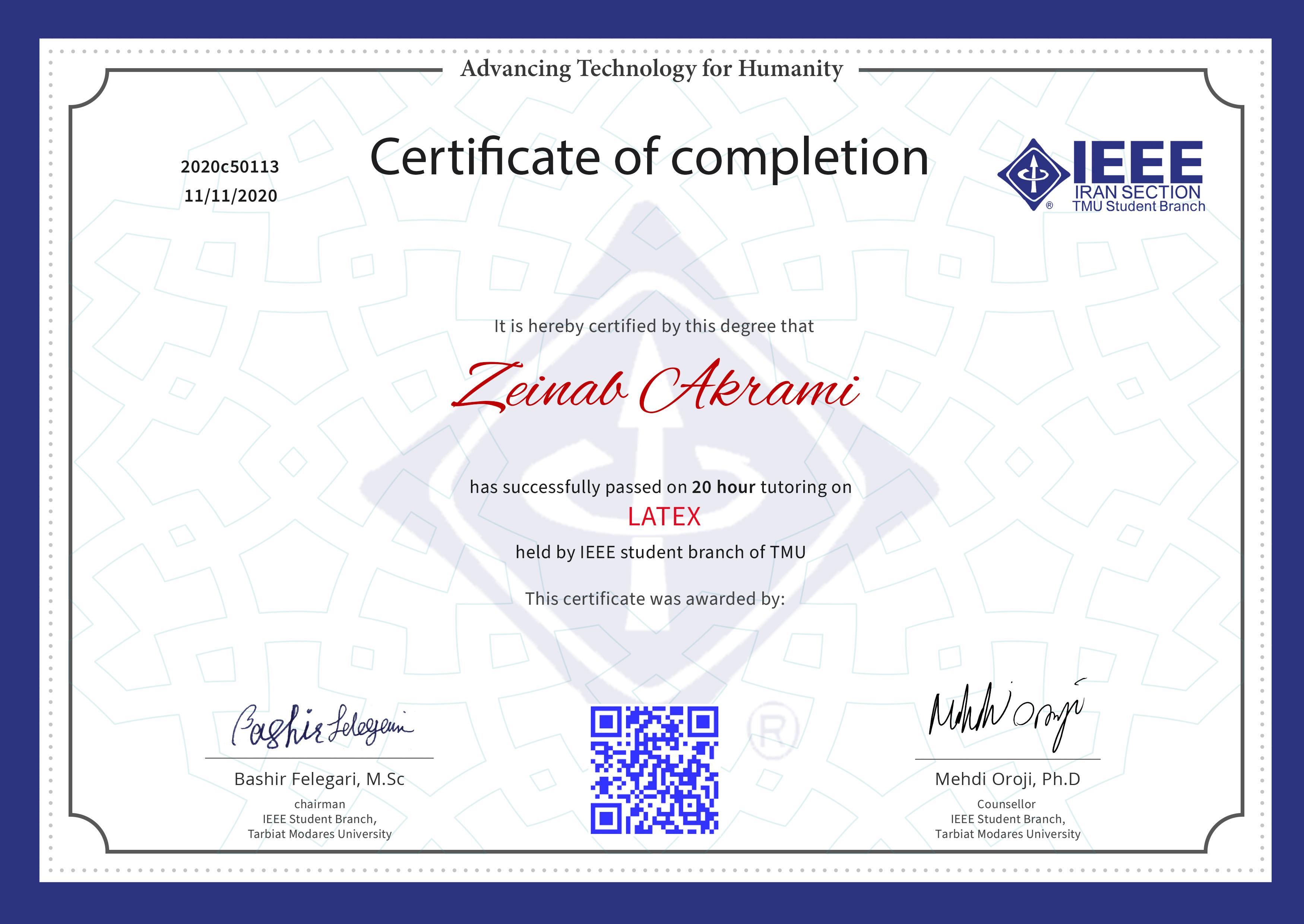 Zeinab Akrami